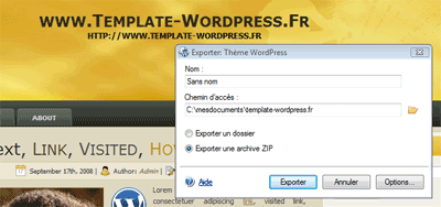 template wordpress artisteer